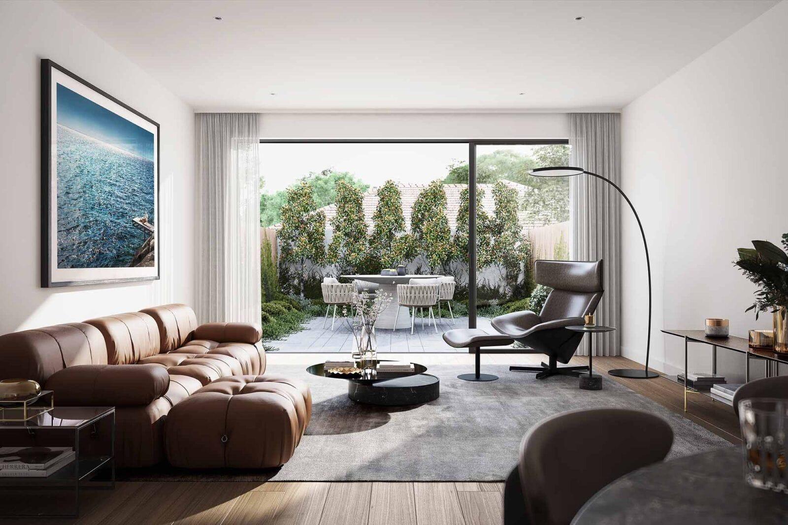 Edwardes Living room